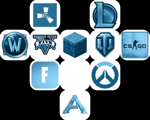 blue ico